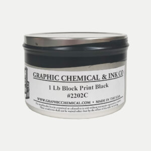 Graphic Chemical Oil Based Relief Ink Black