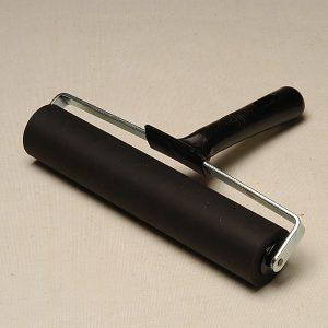 Essdee Firm Black Handled Rollers