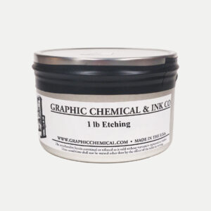 Graphic Chemical Etching Ink