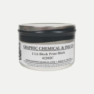 Graphic Chemical Oil Based Relief Ink